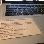 Die 10 Gebote des konzentrierten Arbeitens